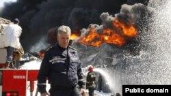 (архівне фото пожежі, 10 червня 2015 року