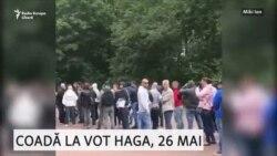 Coadă la vot în Haga- a doua parte