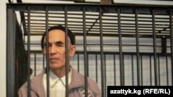 Human rights activist Azimjan Askarov in court on November 10