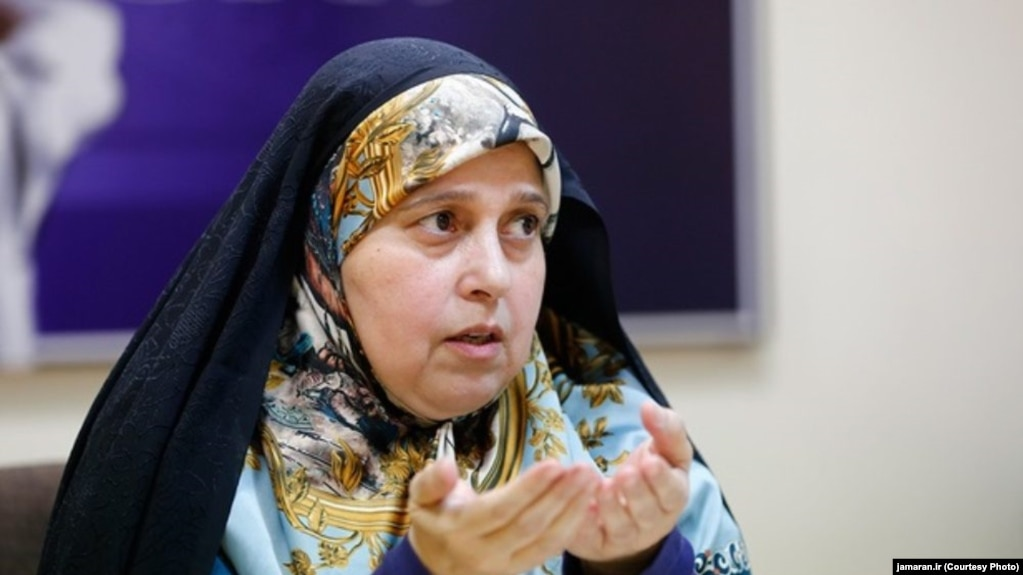 Parvaneh Salahshouri is an Iranian sociologist and reformist politician who is currently a member of the Parliament of Iran representing Tehran. File photo