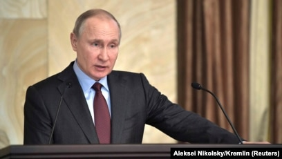 Putin Claims Hundreds Of Spies Thwarted Urges Focus On Cybersecurity