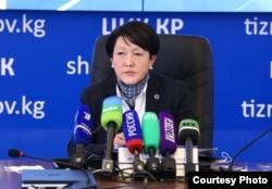 Нуржан Шайлдабекова.