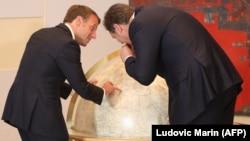 Makron i Vučić u Beogradu, 15. juli 2019