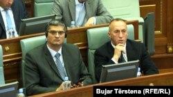 Nenad Rikalo dhe Ramush Haradinaj, fotografi nga arkivi.