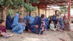 تعداد بیجا شدهها از مناطق ناامن در شهر شبرغان رو به افزایش است