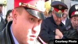 Полицейские в Казахстане. Иллюстративное фото.
