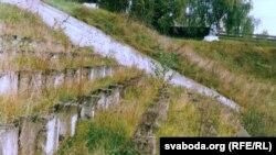 Былы вайсковы стадыён у Валожыне, дзе адбылася адна з акцый расстрэлу падчас вайны. Фота: Георгі Каржанеўскі