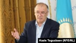 Амирбек Тогусов, генерал-майор запаса, бывший замминистра обороны Казахстана.