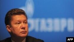 """Глава российской компании """"Газпром"""" Алексей Миллер."""
