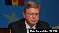 Штефан Фюле, комиссар Евросоюза по вопросам расширения.