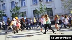 Самара. Прогулка протеста. Фото Сергея Хазова