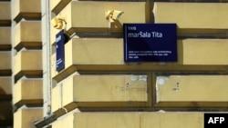 Nekadašnjem Trgu maršala Tita nedavno je promijenjeno ime na inzistiranje desnih stranaka u gradskom vijeću.