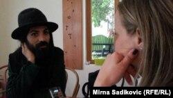 Božo Vrećo u razgovoru sa novinarkom RSE Marijom Arnautović
