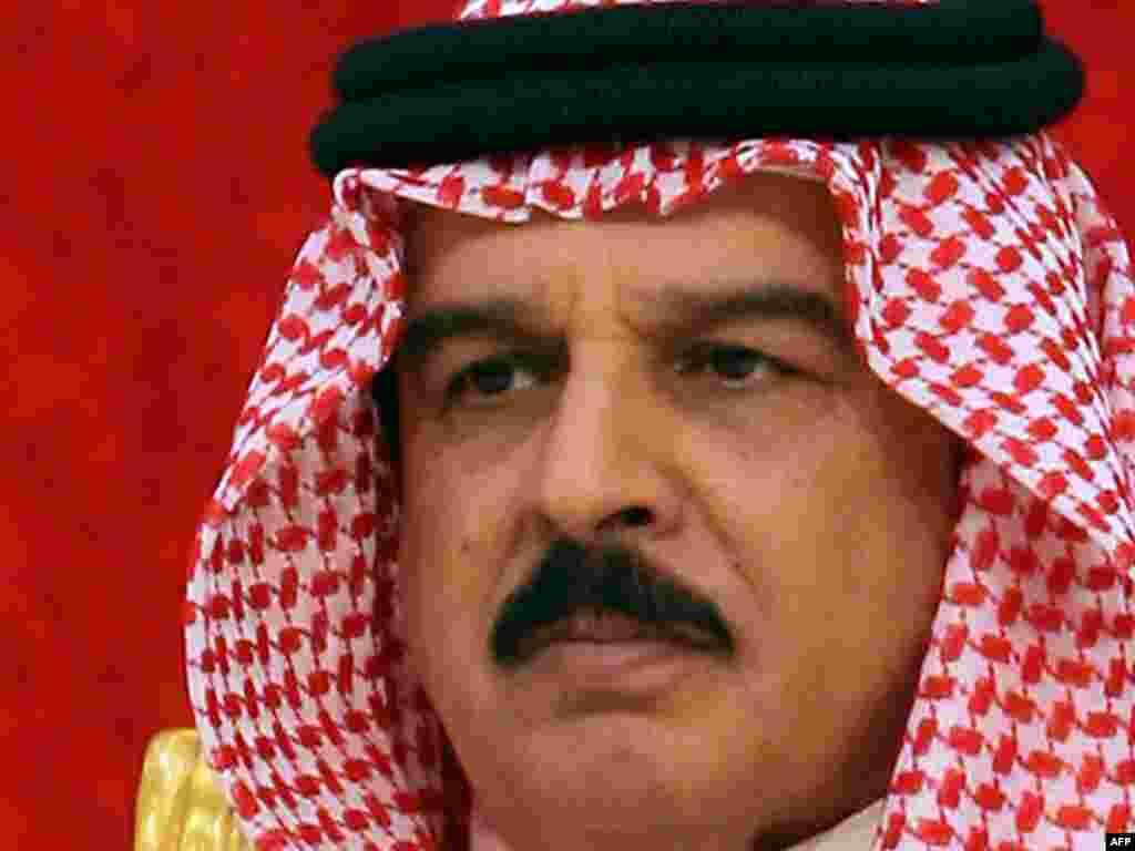 Король Бахрейна Ахмад. 2011.