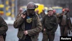 Гірники шахти імені Засядька, 4 березня 2015 року