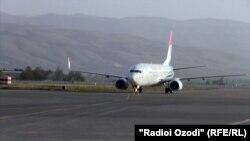 Новый терминал в международном аэропорту Душанбе.