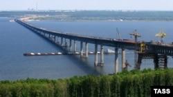 Ульяновск. Мост через Волгу