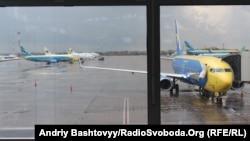 Ілюстраційне фото: аеропорт Бориспіль, квітень 2012 року