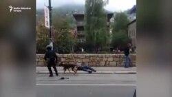 Sukob bivših boraca i policije u Sarajevu
