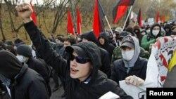 Демонстрация неонацистов в Москве