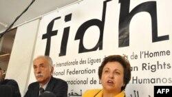 شیرین عبادی با وضع تحریمهای اقتصادی علیه ایران مخالفت کرده است.