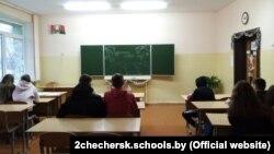 Заняткі ў чачэрскай школе №2. Ілюстрацыйнае фота