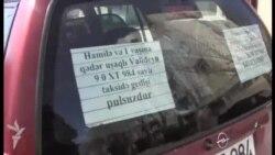 Bakıda pulsuz taksi