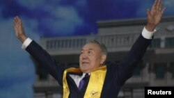Қазақстанның бұрынғы президенті Нұрсұлтан Назарбаев.