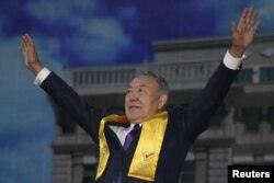 Нурсултан Назарбаев. Апрель 2015 года.