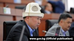 Opposition Kazakh deputy Kanatbek Isaev (file photo)