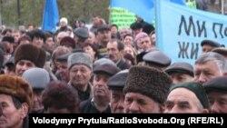 Мітинг у Сімферополі до Дня захисту прав людини, 10 грудня 2012 року