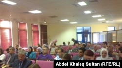 اجتماع لاحدى منظمات المجتمع المدني في دهوك