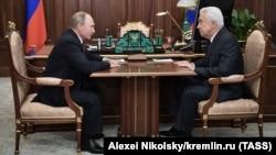 Владимир Васильев на встрече с президентом России Владимиром Путиным