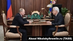 Владимир Путин и Владимир Васильев (архивное фото)