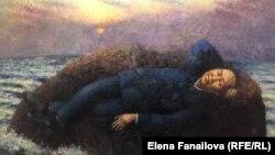 Работа Александра Ройтбурда, фрагмент