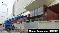 Разбор здания торгового центра «Зимняя вишня». Кемерово, 14 июля 2018 года.