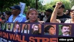 Кыймылдын соңку акцияларынын бири. Түндүк Каролина, 4-сентябрь, 2012-жыл.