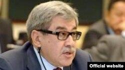 Гани Касымов, представитель Национальной палаты предпринимателей в сенате.