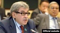 Гани Касымов, лидер Партии патриотов Казахстана.
