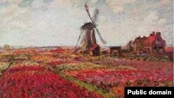 "Slika ""Polja tulipana u Holandiji"" Claudea Moneta"