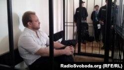 Василь Волга у залі суду, Київ, 14 вересня 2012 року