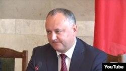 Президент Молдавии Игорь Додон (архивное фото)
