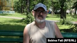 Mariupol, Ucraina 2016. Astrologul din parc