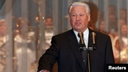 Борис Ельцин во время инаугурации на второй президентский срок. Москва, 9 августа 1996 года