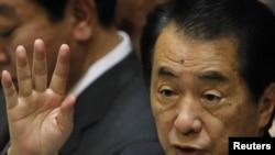 Прэм'ер-міністар Японіі Наота Кан