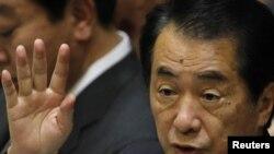 Премьер-министр Наото Кан