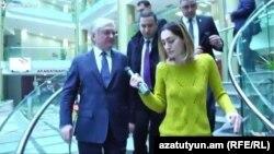 Глава МИД Армении отвечает на вопросы корреспондента Радио Азатутюн, Ереван, 1 декабря 2016 г.