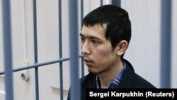 Подозреваемый в организации теракта в метро Петербурга Аброр Азимов.