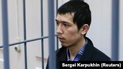 Аброр Азімов, якого російські слідчі підозрюють в організації нападу в метро Санкт-Петербурга