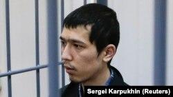 Аброр Азимов в Басманном суде Москвы